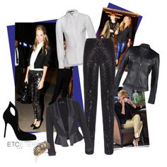 "Holiday 2013 ""The CAVIAR black sequin legging: absolutely DELICIOUS 