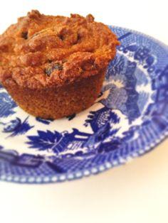 Gluten-free and dairy-free pumpkin muffins @Alisa Burke