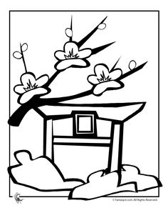 cherry blossom coloring pages japanese cherry blossom coloring page fantasy jr