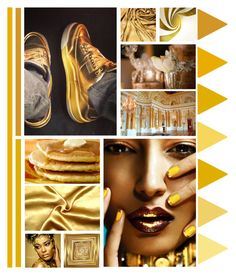 """""""gold"""" by bodangela ❤ liked on Polyvore featuring art"""
