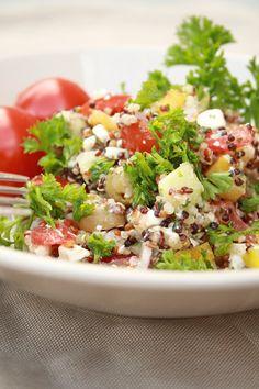 Quinoa-Salat griechischer Art