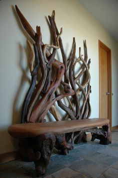 Drift Wood Furniture and Art Creations Beyond Belief - Wave Avenue - Home Decorating Design & Decor