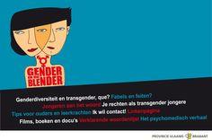 Gender in de blender: voor jongeren die vragen hebben over genderidentiteit, transseksualiteit en transgender
