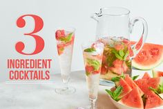 These big-batch cocktails couldn't be easier to make and are guaranteed crowd-pleasers.