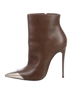 Christian Louboutin Calamijane Pointed-Toe Booties