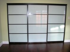 Sliding Doors Frosted Gl Contemporary Interior Los Angeles The Closet Warehouse