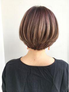 Bob Hairstyles For Fine Hair, Thin Hair Haircuts, Medium Bob Hairstyles, Short Bob Haircuts, Short Hairstyles For Women, Short Brown Hair, Short Hair With Layers, Short Hair Cuts For Women, Medium Hair Cuts