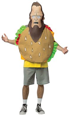 9a2048b1a774c Official Licensed Bob s-Burgers-Beefsquatch Costume by Rasta Imposta Bobs  Burgers Costume