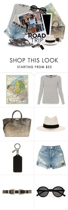 """""""Road Trip"""" by lasvegasmjb ❤ liked on Polyvore featuring Weekend Max Mara, Burberry, rag & bone, Coach, 3x1, B-Low the Belt, Yves Saint Laurent and Dorothy Perkins"""