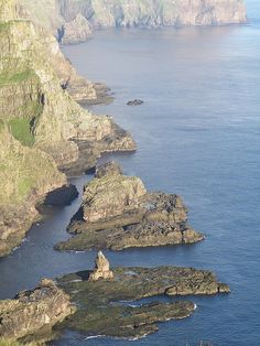 The West Coast of Suðuroy - Sea stacks and the North Atlantic Ocean