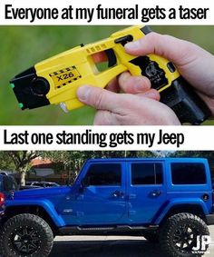 Last one standing gets my JEEP! Jeep Jk, Jeep Rubicon, Jeep Truck, Wrangler Rubicon, Jeep Humor, Car Humor, Jeep Funny, Jeep Quotes, Truck Quotes
