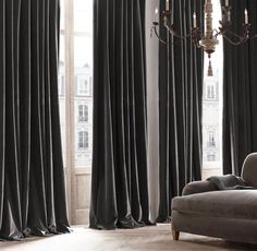 5 Smashing Clever Tips: Velvet Curtains Pom Poms lace curtains bed skirts.Gray Curtains Behind Bed pottery barn curtains living room. Gold Curtains, Green Curtains, Rustic Curtains, Curtains Living, Velvet Curtains, Colorful Curtains, Hanging Curtains, Diy Curtains, Patterned Curtains