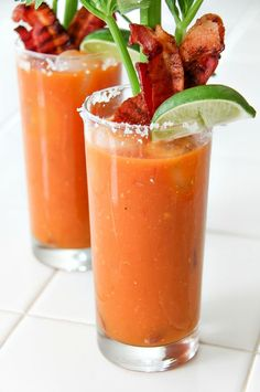 This Bacon Bloody Mary is the perfect way to prep for game day and let's be real - bacon makes everything better.
