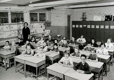 A Second Grade Class in Shreveport, Louisiana - 1964