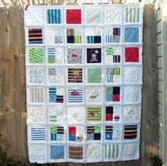 Baby clothes memory quilt!! I am going to save clothes that have meaning to me for each of my children, and have quilts made for each of the, and then a big one for me with all their little clothes that I can't bear to get rid of.