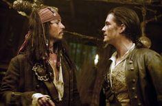 Pirates des Caraïbes : le secret du coffre maudit - Orlando Bloom - Johnny Depp