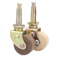 Large Grip Neck Caster With 2 Quot Rubber Wheel Perfect This