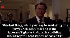 "ALL THE FEELS | 25 Times ""The West Wing"" Was The Best Show On Goddamn Television"
