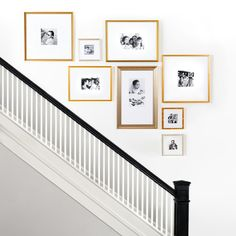 Stairwell Wall, Staircase Wall Decor, Stairway Decorating, Stair Decor, Staircase Design, Stair Landing Decor, Staircase Walls, Stairway Gallery Wall, Gallery Wall Layout
