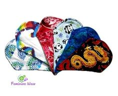 Reusable period products - cloth sanitary pads, menstrual cups and reusable tampons.