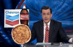 Watch Colbert Tip His Hat to Chevron's Pizza Coupons
