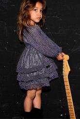Celine Purple #Dress #girls #clothing by @TroiZenfantS from @Libby Gillette Mercieca.com
