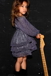 Celine Purple #Dress #girls #clothing by @TroiZenfants from @bibaloo.com