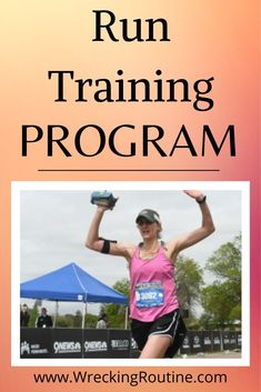 Crush your running goals with this proven training program. Finish your race with your PR. Run faster. #run #running #wreckingroutine 5k Training Plan, Strength Training Workouts, Training Programs, Interval Running, Running Workouts, Fun Workouts, Steady State Cardio, Types Of Cardio, Running Plan