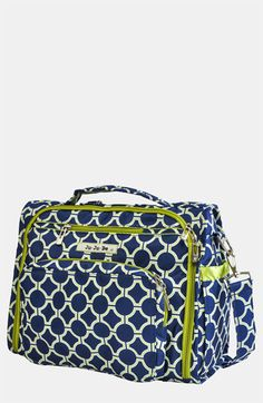 Ju-Ju-Be 'BFF' Diaper Bag - best bag ever! Has a shoulder strap and backpack straps. I love its fabric