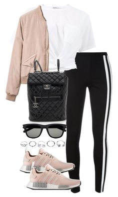 """Untitled #3988"" by theeuropeancloset on Polyvore featuring Y-3, T By Alexander Wang, Chanel, Yves Saint Laurent and GUESS #CasualOutfits"