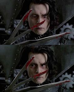 Likes, 8 Comments - Horror Gothic Movies, Johnny And Winona, Estilo Tim Burton, Scissors Hand, Tim Burton Characters, Johnny Depp Movies, Vincent Price, Sweeney Todd, Beetlejuice