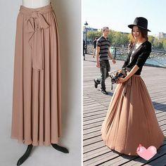 Custom Romantic Chiffon White Cream Pink Bride Bridesmaids Wedding Dress Formal Skirt Gown S22. $52.00, via Etsy.