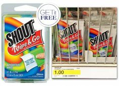 Free Shout Wipe & Go at Target!