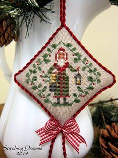 525 Best Cross Stitch Ornament Finishing Ideas Images In 2019