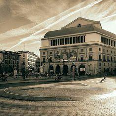 """Plaza de Isabel II, better known as """"Opera"""", Madrid, Spain"""