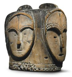 Fang Four-Faced Helmet Mask (ngontang), Gabon   Lot   Sotheby's