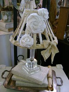 Lovely lamp makeover