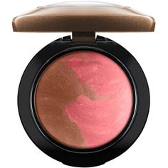 MAC Mineralize Blush, Jade Jagger Collection ($28) ❤ liked on Polyvore featuring beauty products, makeup, cheek makeup, blush, perfect bronze, mineral blush and mac cosmetics