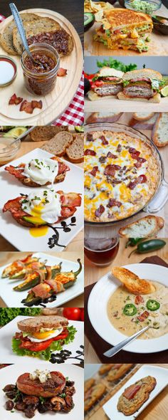 Bacon Addiction, 10 Ways to satisfy the cravings. They say that the bacon cheeseburger dip is a winner at group gatherings!