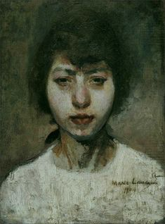 Marie Laurencin · Autoritratto · 1904 · Ubicazione ignota
