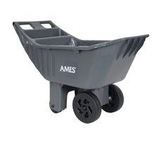 Ames Easy Roller Garden Lawn Cart Flowers Yard Wheelbarrow Home Work Tool Plants