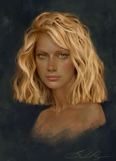 Commission: Fara by Selenada.devianta... on @deviantART Love the hair! art,art drawings,art deco,artichoke recipes,art studio