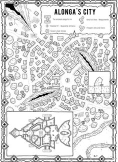 More business card ography rpg fantasy map and dungeon maps alongas city kosmic dungeon rpg map jdr reheart Gallery