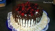 Svieža ovocno-tvarohová torta - Recept
