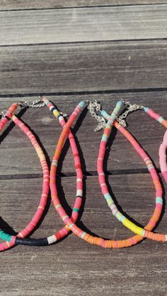 Diy Crafts Jewelry, Handmade Jewelry, Dainty Jewelry, Beaded Jewelry, Neck Accessories, Beach Cottage Style, Polymer Clay Necklace, Cute Necklace, Jewelry Making Tutorials