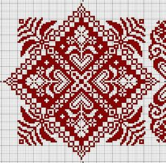 Embroidery designs free christmas ideas for 2019 Biscornu Cross Stitch, Cross Stitch Borders, Cross Stitch Charts, Cross Stitch Designs, Cross Stitching, Cross Stitch Patterns, Blackwork Embroidery, Cross Stitch Embroidery, Embroidery Patterns
