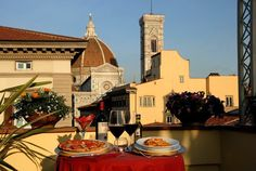 Hotel Laurus al Duomo_ Florence: Panoramic Terrace Panoramic Terrace at 6° floor  http://www.florencehotellaurusalduomo.com/index.php/en