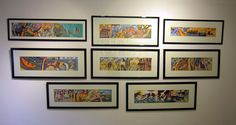 Paul Chatenay Art Work, Gallery Wall, Day, Frame, Home Decor, Artwork, Picture Frame, Work Of Art, Decoration Home