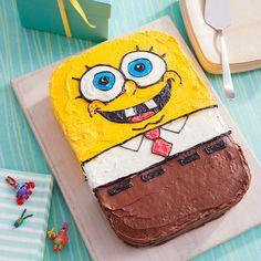 Tarta de cumpleaños de Bob Esponja