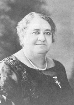 Maggie Lena Walker (1867-1934) of Richmond, Virginia was the first female bank president and the first woman to charter a bank in the United States.